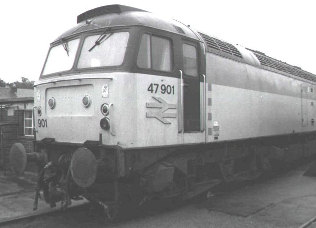 47 901 at Gloucester Rail Day 1989