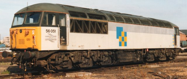 Among the more modern Type 5 diesel electrics available to British Rail's freight sector though were the Brush designed Class 56 - developed from the Class 47 and introduced in 1976 - and the 1983 vintage Class 58 built by British Rail Engineering Limited (BREL) Doncaster.
