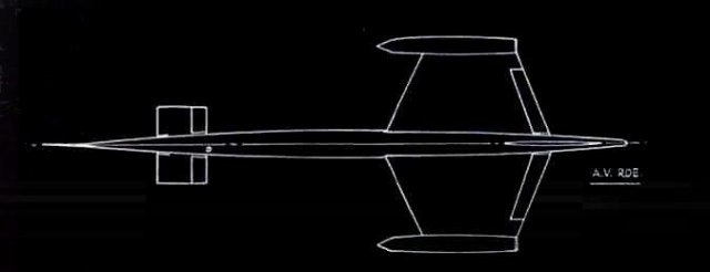 Avro 730 blueprint