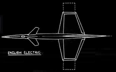 English Electric P10 blueprint
