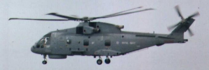 Three views of the Royal Navy version of the three engined Westland Merlin seen at the Southport Military and Air Show on Saturday 10 September 2005.