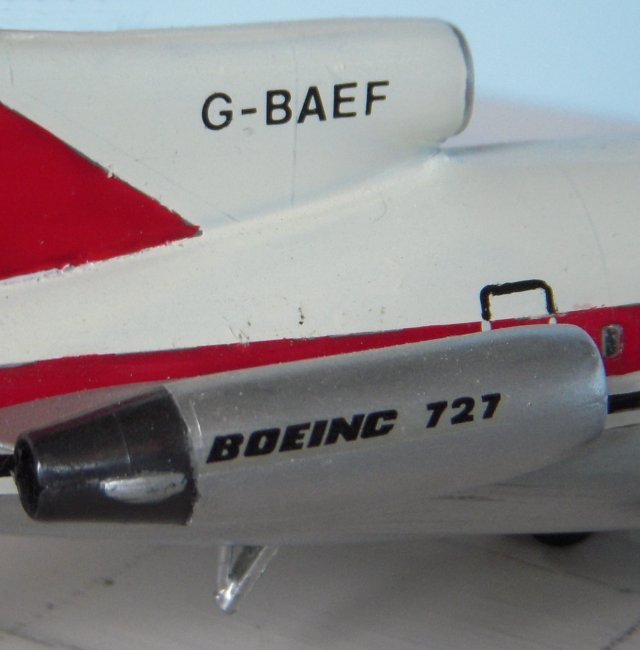 The Pratt & Whitney JT89 7A powered G-BAEF had first flown in 1966 and carried the constructors number 18879 / 254 . It was later repaired and none of the 8 crew or 126 passengers on board were injured. G-BAEF was still flying with Dan Air in 1990 but by 1996 it had become Aero Republica Colombia HK-3840X
