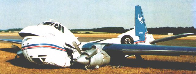 C-FDFC - airframe13218 - crashed on takeoff on 18 July 1996 at Enstone, Oxfordshire.This picture - originally printed in Flypast magazine in September 1996 - is reproduced with the kind permission of the photographer, Rob Pritchard.