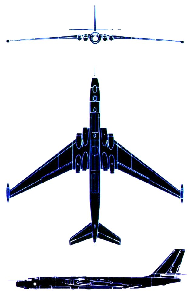 The Myasishchev M-4 - NATO code name Bison - was the Soviet equivalent to the Boeing B-52
