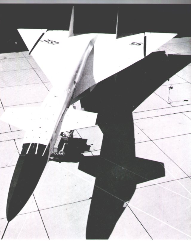 One of only two North American XB-70A prototypes to fly