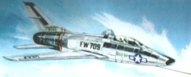 The United States consolidated its grip on the World Air Speed Record with the North American F-100 Super Sabre, which exceeded the speed of sound on its first test flight. The successor to the F-86 Sabre then set the first official supersonic record of 822 mph on 20 August 1955 piloted by Colonel HA Hanes. However, Britain had one more speed ace up its sleeve.