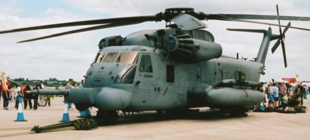 "This Sikorsky MH-53M of the United States Air Force Special Operations Command 21st SOS / 352nd SOG bears the number 70-1625 and the name ""Deliverence""."