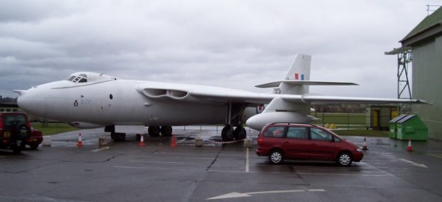 Vickers Valiant XD 818 - seen at RAF Cosford - dropped the first British hydrogen bomb