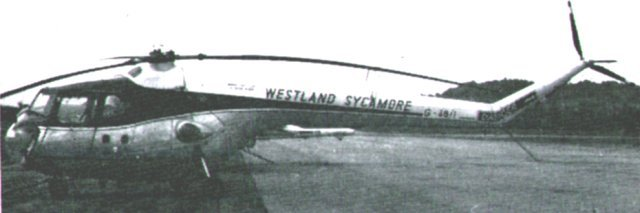 "The wider development of the Bristol Sycamore is discussed in Rotors over Gloucestershire but the fourth edition of the official guide - ""Skyfame and its Aircraft"" - had this to say about the 550 bhp Alvis Leonides 73 engine powered aircraft - by that time officially a product of Westland Aircraft which had taken over the helicopter division of Bristol Aircraft:"