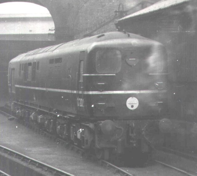 Bulleid designed 10202 - built at Ashford in 1951 - rests at Stewarts Lane depot, London, on 5 September 1952