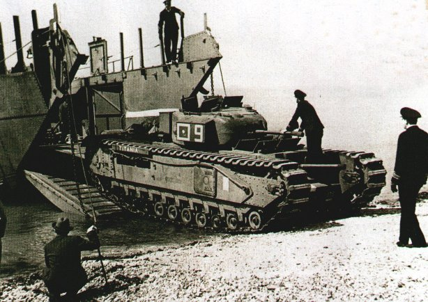 Cromwell Tank Turret Ring In