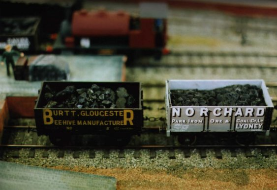 Burtt and Norchard coal wagons at Oakingham