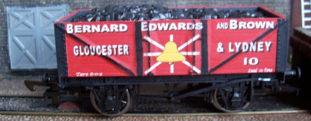"Bernard Edwards was born in Radnorshire and in 1881, aged 32, was trading as a timber merchant in Gloucestershire, living at Elton House, Westbury on Severn. In Kelly's Directories for 1889, 1894 and 1897 Edwards is listed as a coal factor with an office in Cookson Terrace, Lydney. By 1893 he was advertising himself as a ""shipper"" dealing in best Forest of Dean Red Ash and other coals with an addres in George Street, Gloucester. 1901 saw him styled as a ""colliery agent"" and living in Gloucester."