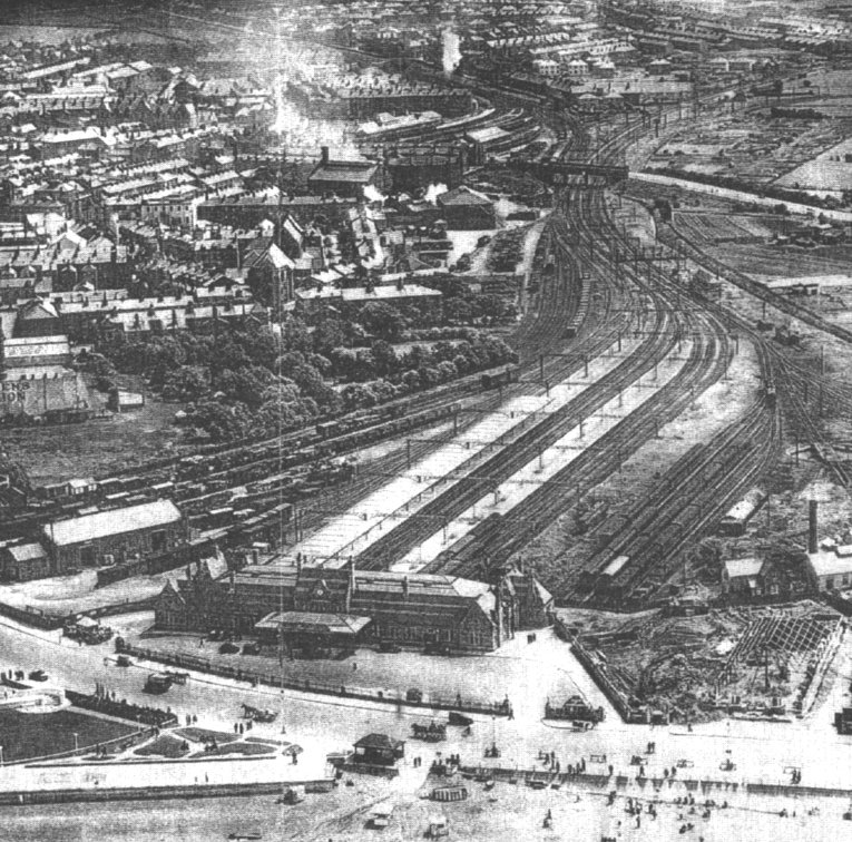Morecambe Promenade Station in 1933
