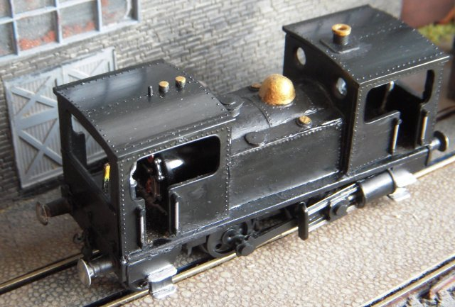 Ron Brook's model would therefore seem to represent DBST locomotive 8 / Thomas Green and Son of Leeds works 218 in its as-delivered condition of 1896, thereby also representing all the steam locomotives built in Britain for export within the context of the Christchurch display.