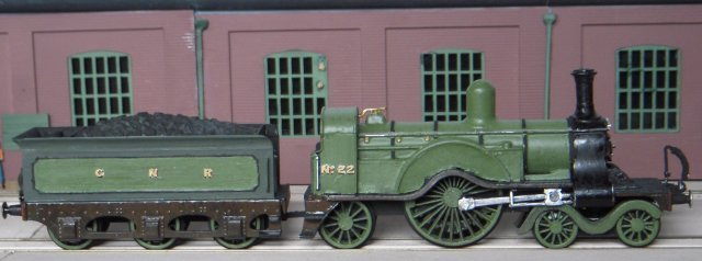 Also present in the complete Rosebud kit but missing from Ron's modes were oil lamps and coupling hooks, although to fully finish both models some oval Doncaster worksplates and vacuum brake pipes would also be needed.  Screw link couplings were eventually sourced from set LP5 produced by Dorset based Smiths by W&T while item DA9 from Springside Models of Devon yielded the white metal vacuum pipes - both being attached by gel superglue.