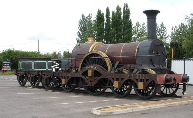 "The replica ""Iron Duke"" is normally based at the National Railway Museum at York (as seen above)  but has also visited the Great Western Society at Didcot which also has a length of Broad Gauge track.  In 2006 it took part in the Nine Lives of Isambard Kingdom Brunel exhibition at Bristol and visited the Gloucestershire and Warwickshire Railway at Toddington (as seen below) in 2010 for the GWR 175 celebrations."