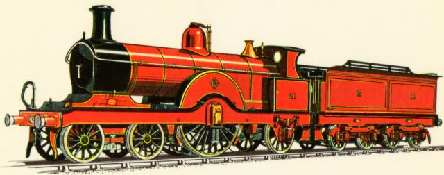 Although  many of Matthew Kirtley's locomotives survived into London Midland & Scottish Railway ownership after 1923, no single driver steam locomotive was built by the Midland Railway after 1866 - until Kirtley's successor Samuel Waite Johnson introduced his 115 Class of 4-2-2s in 1887.
