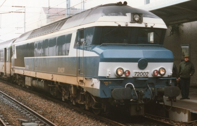 "Just as British Railways had hired design consultants Wilkes and Ashmore to style their Class 35 and Class 47 locomotives - as well as the 4 000 bhp Brush ""Kestrel""- so Jones Garrard were set to work on the physical appearance of the Class 60s. The Oakham based firm would later go on to style Eurostar and Spanish AVE high speed EMUs and one proposal for the Class 60s involved a cab similar to the idiosyncratic French design of Paul Arzens for such SNCF diesel electrics as BB 72002 pictured above."