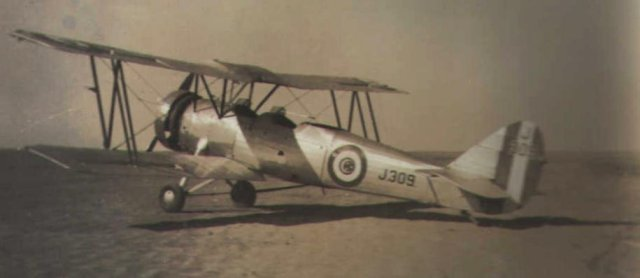 This Egyptian Army Air Force Avro Tutor was photographed at El Amriya in December 1935.