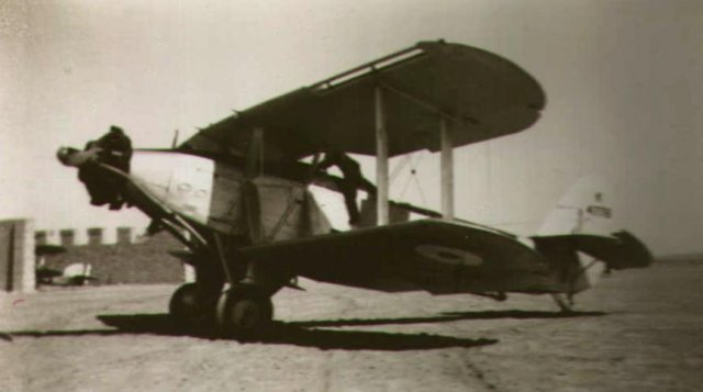 Blackburn Baffin photographed at El Amriya, Egypt, in 1936