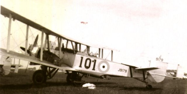 Boulton Paul Overstrand of 101 Squadron at Mildenhall in July 1935