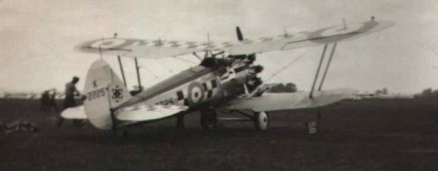 Bristol Bulldog of 56 Squadron at Mildenhall in July 1935