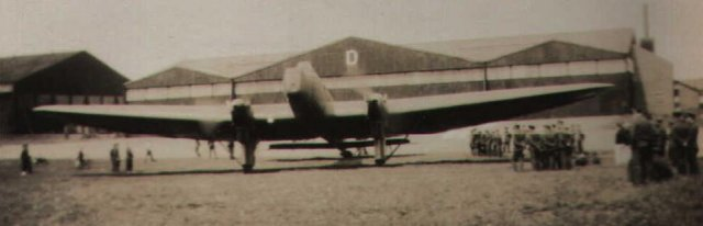 Fairey Hendon at Cranwell in June 1933