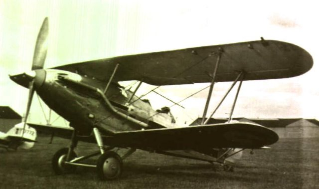 Hawker Demon of 41 Squadron at Catterick in September 1934