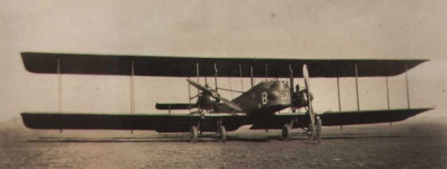 Vickers Virginia with Napier engines