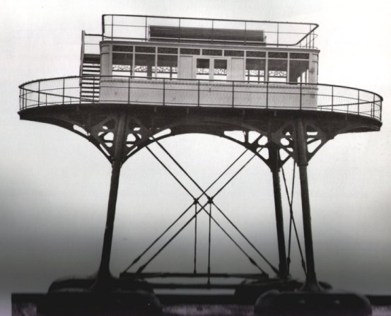 """Gantry Car"" was built for Magnus Volks Brighton and Rottingdean Seashore Railway Company"