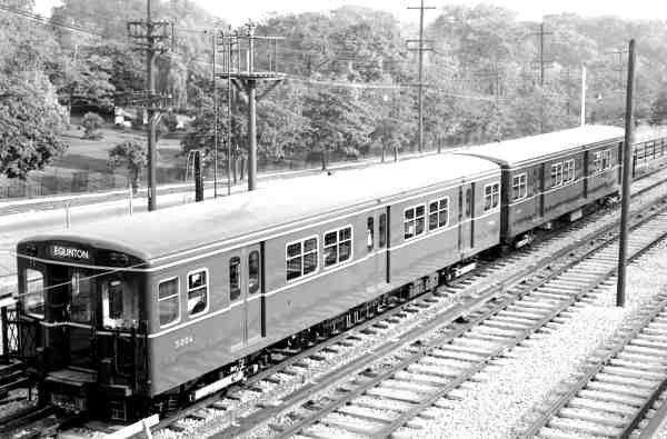 Cars 5006-5007 pictured in October 1953 just after delivery ( Bill Vigrass )