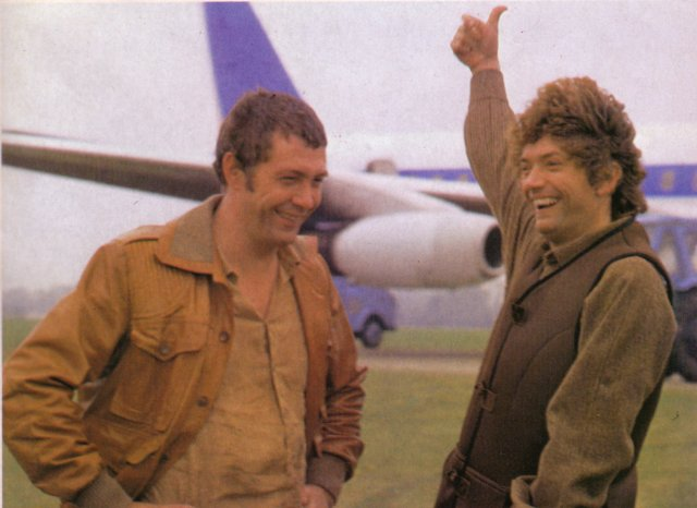 It's thumbs up for Gloucestershire Transport History joining The Professionals.  More nostalgia with C.I.5's Cowley, Bodie and Doyle