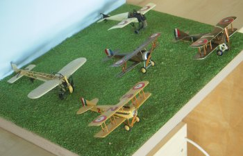 WW1_French_five aircraft