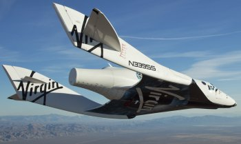 The American Space Shuttle - carried between landing and launch sites when needed on top of a modified Boeing 747 - featured ejector seats for two pilots only while Virgin Galactic's SpaceShipTwo - air launched from its White Knight aircraft - is designed to reach space but not attain Earth orbit.