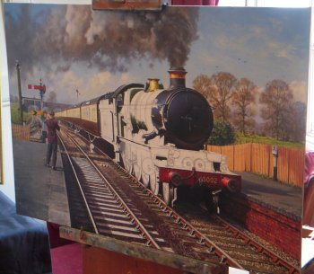 Also represented at The Chantry were Barry Walding: Railway Artist, the Avon Valley Railway and Lynton and Barnstaple Trust and trade stands by Keith Price, Tony Wilcock and Rural Railways.