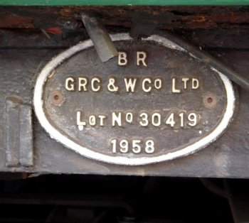 Perhaps most reassuringly though was the Preparation, Operation and Disposal Log on the driver's desk. On the Gloucestershire Warwickshire Railway - and all good preserved lines - safety is paramount and no vehicle moves without all aspects being inspected and found fit for purpose.