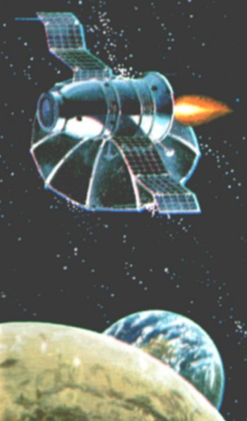At the time, the USA believed that the USSR was close to beating them to the Moon with a very similar project, a belief strengthened by the Soviet Zond 5 mission of 15-21 September 1968. This saw a small cargo of live turtles, wine flies, mealworms and other animals and plants launched on a near free-return trajectory around the Moon before - unusually - splashing down in the Indian Ocean.