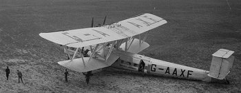 G-AAXF was named after Helena, also known as Helen of Troy, and first flew on 30 December 1931 before being converted to an Eastern aircraft. On 20 January 1932, G-AAXF inaugurated Imperial Airway's ten day transcontinental mail service from Croydon to Cape Town via Cairo, Khartoum, Juba, Nairobi, Mbeya, Salisbury and Johannesburg. The initial flights carried mail only, but scheduled passenger service was soon added. The cost of the flight from London to Cape Town was £130.
