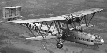 Not only has Gloucestershire hosted four-propeller driven transport aircraft with the individual and collective name of Hercules, but in 1932 G-AAXD was also returning to its company roots as pioneering aviator Sir Frederick Handley-Page had been born in Cheltenham in 1885.