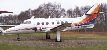 A total of 50 high-wing, short-haul HPR7 Dart Herald airliners were built between 1959 and 1968, and the smaller 18-seat HP137 Jetstream was also put into large-scale production at Radlett. But the high cost of developing this aircraft forced Handley-Page into voluntary liquidation on 8th August 1969, and, on 1st June 1970, one of Britain's best known aircraft manufacturers ceased to exist. The Jetstream was later redeveloped by British Aerospace into a successful regional aircraft. Handley-Page Jetstream G-BBYM is currently preserved at the Royal Air Force Museum, Cosford