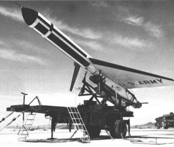 The Fairchild USD-5 was a subsonic delta-wing aircraft powered by a single Pratt & Whitney J60 turbojet. It was zero-length launched with the help of a single solid-propellant rocket booster - yielding 178 kN (40000 lb) of thrust for 3 seconds - and recovered by parachute. The drone had an operational radius of 1 600 km (1 000 miles) and could fly at altitudes between a few hundred feet and 10 700 m (35 000 ft). Projected payloads were infrared scanners, side-looking radar and optical mapping systems. The sensor data could either be transmitted by radio or stored for examination after drone recovery. The Army had planned to have the AN/USD-5 system operational by 1964 but in November 1962 the program was cancelled because of budget constraints.