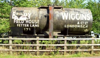 While the cast and crew of Dr Who have long since checked out of their hotels in nearby Rochester, the former Berry Wiggins oil and bitumen site on the Medway Estuary survives asthe Kingsnorth Industrial Estate.The northern part, where the Berry Wiggins rail depot stood is now an oil recycling plant, whilst the southern side is now home to Kingsnorth Bitumen Products Ltd.