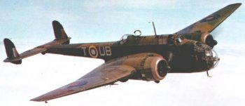 The Handley-Page Hampden was the last of the twin engined bombers to go into service with the Royal Air Force prior to the Second World War. Together with the Armstrong Whitworth Whitley and Vickers Wellington, the Handley-Page Hampden bore the brunt of the early raids on Germany. Although the design - with a similar format to the Luftwaffe's Dornier 17 - showed promise, the Hampden lacked adequate defensive armament and bomb load and in September 1942 transferred from RAF Bomber Command ( later led by Cheltenham born Air Chief Marshall Sir Arthur Harris ) to Coastal Command as a torpedo bomber. More than half of the Hampdens built were assembled by English Electric at Samlesbury, with 80 Hampdens rolling off the production line at its peak in 1944. English Electric then built Handley Page's four engined heavy bomber, the Halifax.