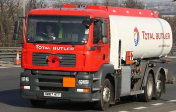 By 1972 Butlers Chemicals Ltd was predominantly a supplier of fuel rather than chemicals and so the name changed again to Butler Oil Products prior to a takeover by Fina in 1988 and another name change to Total Butler in 2001. In 2008, Total Butler - with its fleet of distinctive red and white road tanker lorries - is the only British oil supplier to hold a Royal warrant.