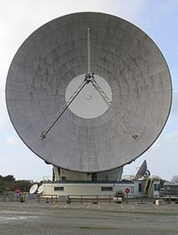 One of the advantages of relaying radio and TV signals by satellite was that high frequency signals could be used. These signals – in the 5 MHz band previously used for radar - were less prone to fading and interference than medium wave transmissions.