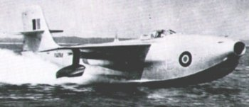 After more than a decade at Cranfield, TG 263 was presented to Skyfame in 1966 and arrived on three lorries as a kit of parts comprising the hull, wings and tailplane. Surprisingly, the aircraft was back in one piece in only three hours and remains in 2007 - at Southampton Sky - the only jet flying boat left in Europe. Although designed and built as a pure flying boat - even featuring a hatch behind the cockpit so that an engineer could climb down into the hull to attend the two turbojets when moored - TG 263 was displayed at Skyfame on its beaching apparatus. As a result the silver flying boat towered over the rest of the hangar on its unusual water filled tyres and as a child it was daring to climb up the ladder resting against it to peer into the cockpit. Modern health & safety rules however would surely have forsworn the ladder!