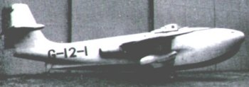 Great news for Skyfame early in 1966 was the decision by the College of Aeronautics at Cranfield to present two of their aircraft to the museum for safe keeping. These were the Hawker Tempest Mark 2 LA607 and the Saro SRA1 jet fighter flying boat TG263.