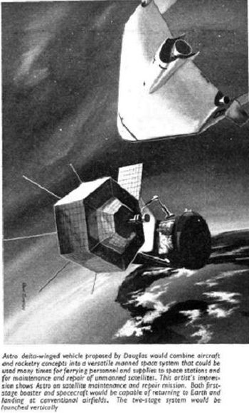 "As the 1950s progressed, more reliable transistors, and telemetry - the automated transmission of instrument readings - made radio repair men in space less necessary and the first real communication satellites - such as Telstar - were unmanned, automatic and powered by solar cells.  Similarly, it was found that photographic reconnaissance from space could also be carried out by unmanned spacecraft and so the only jobs left for a large manned space station would be for pure science - both in terms of observing the Earth and Space beyond the scope of robots and for performing experiments in zero gravity.  Without the need for repair men in space constantly changing vacuum tubes, the science fiction concept of a ""wheel in space"" spinning to create its own artificial gravity disappeared into the future - even beyond the vision of Stanley Kubrick's ""2001: A Space Odyssey"""