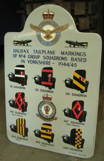 Yorkshire was the home of 4 and 6 Groups Bomber Command and three Halifax Squadrons were based at Elvington, first 77 Squadron, then two French Air Force Squadrons, 346 (Guyenne) and 347 (Tunisie).